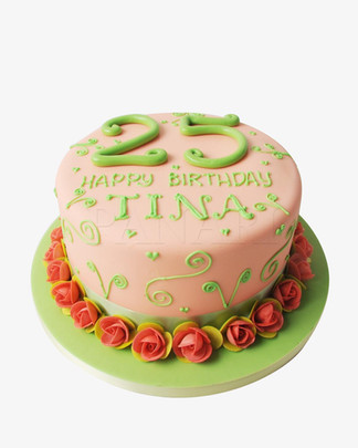 25th Birthday Cake CL2791.jpg