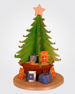 Christmas Tree Cake CS1764