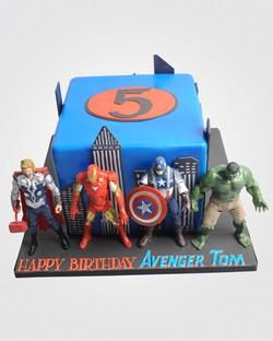 Avengers Cake 2978