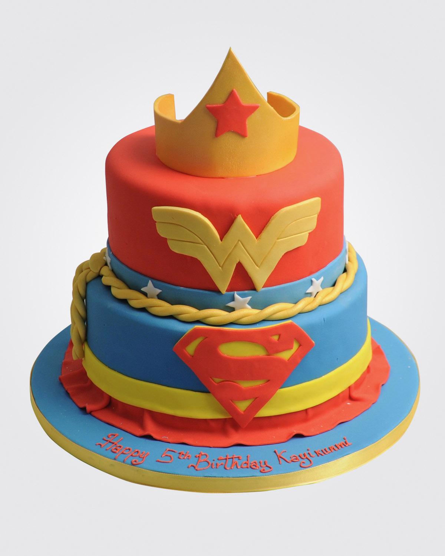 Wonder Woman Cake 7263