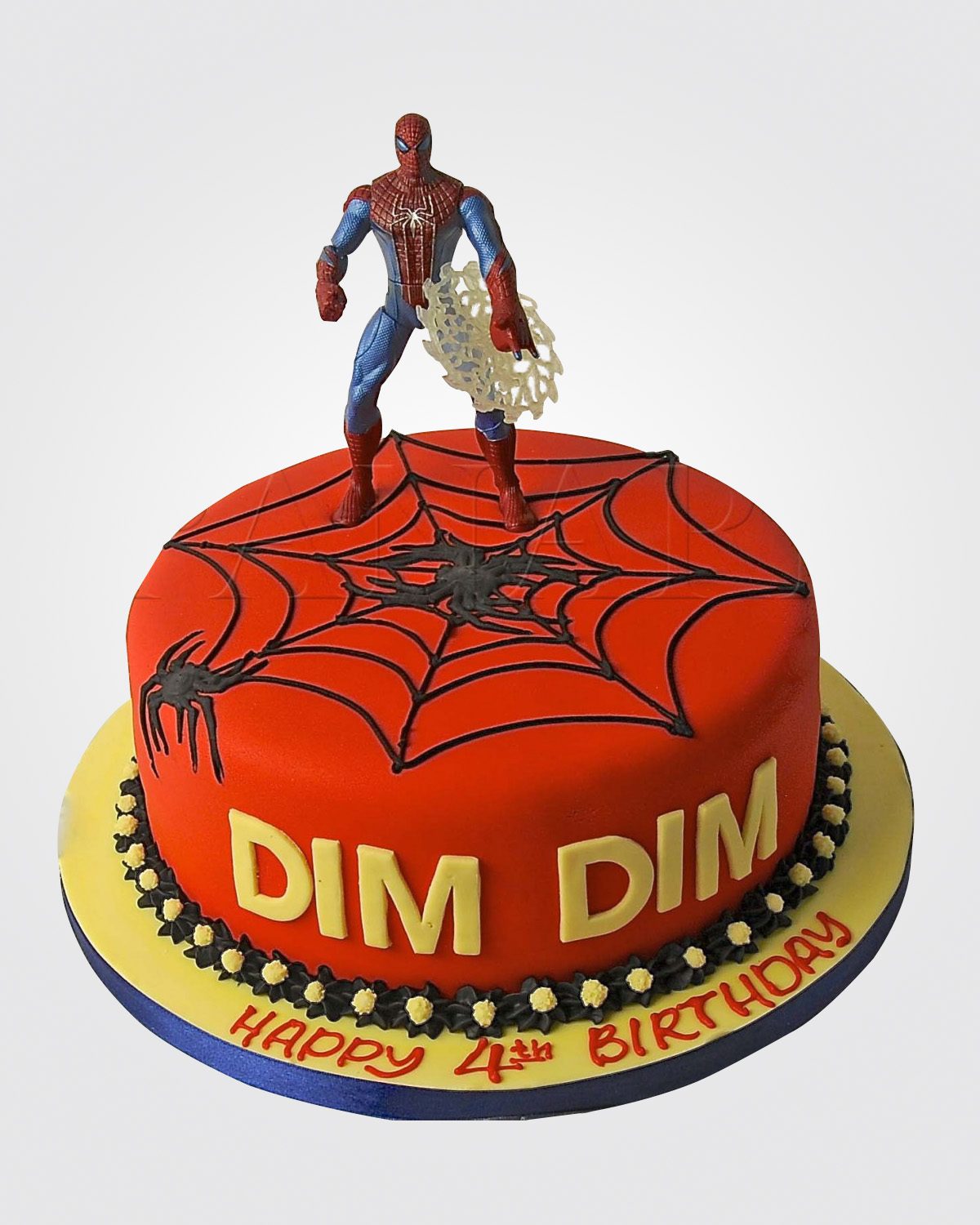 Spiderman Cake SP9083
