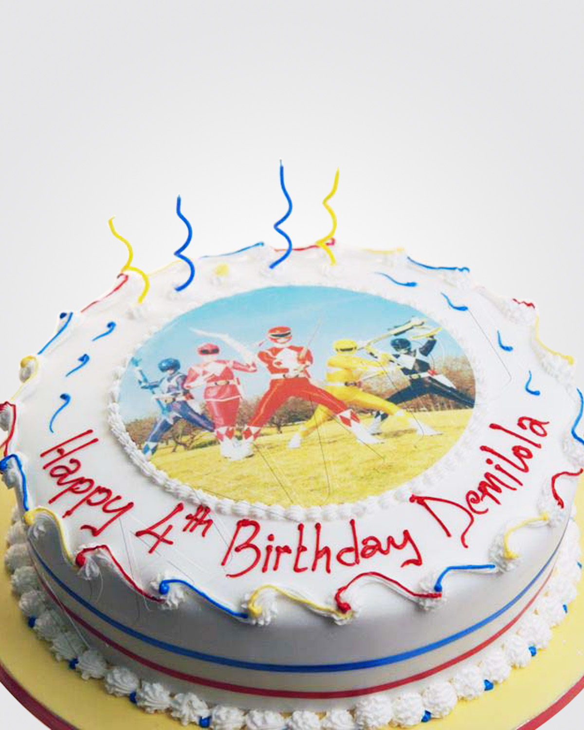 Power Rangers Cake SP0263
