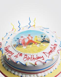 Power Rangers Cake SP0263