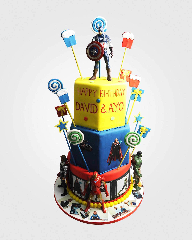 Avengers Cake SP3635