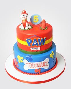 Paw Patrol Cake PW0751