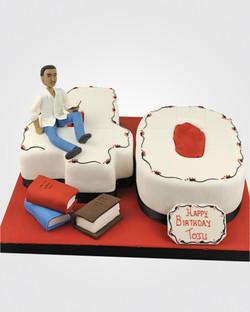 Footballer Cake AN0261