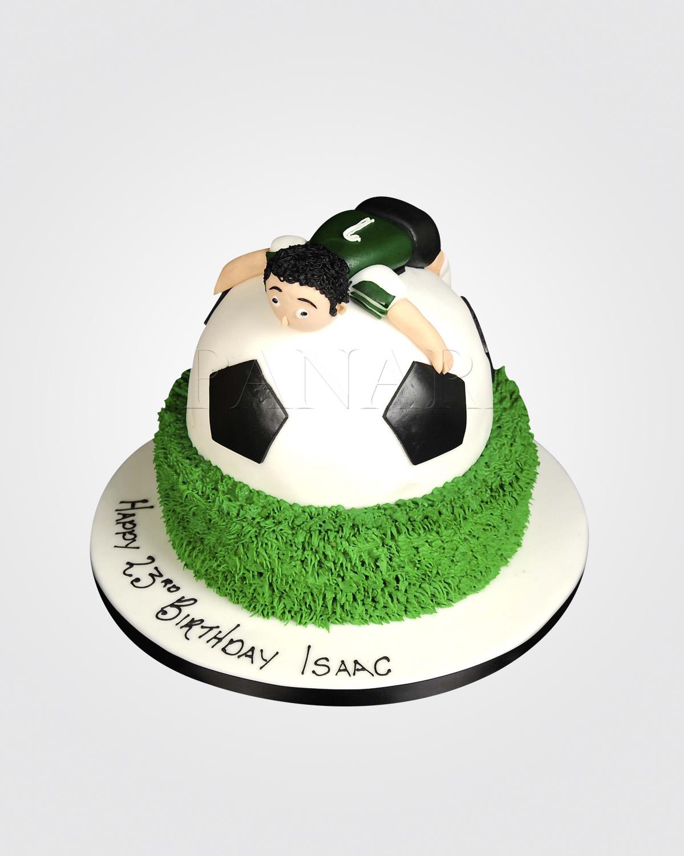 Football Love Cake SPH0475