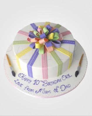 Artist's Palette Cake CL0492
