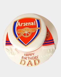 Arsenal Cake SPH5130