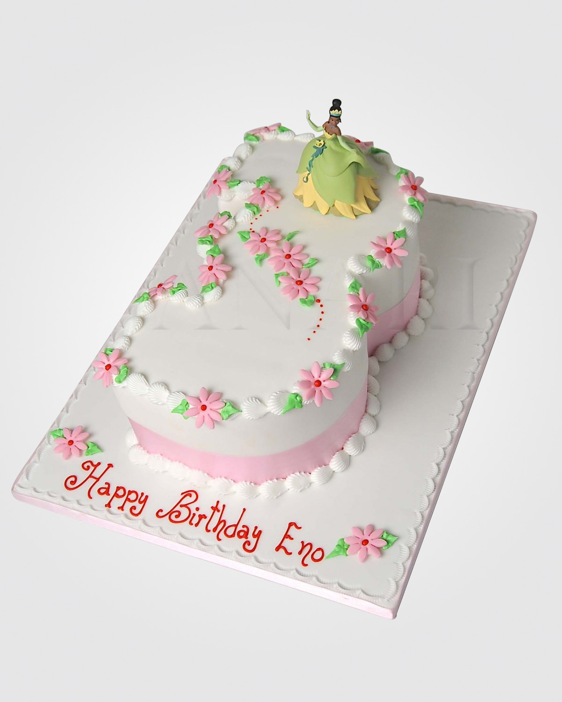 Tiana Number Cake TN8116