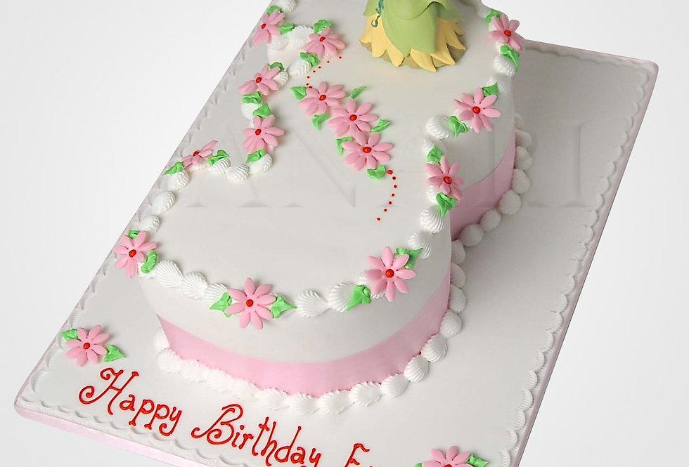 Princess Tiana Cake TN8116