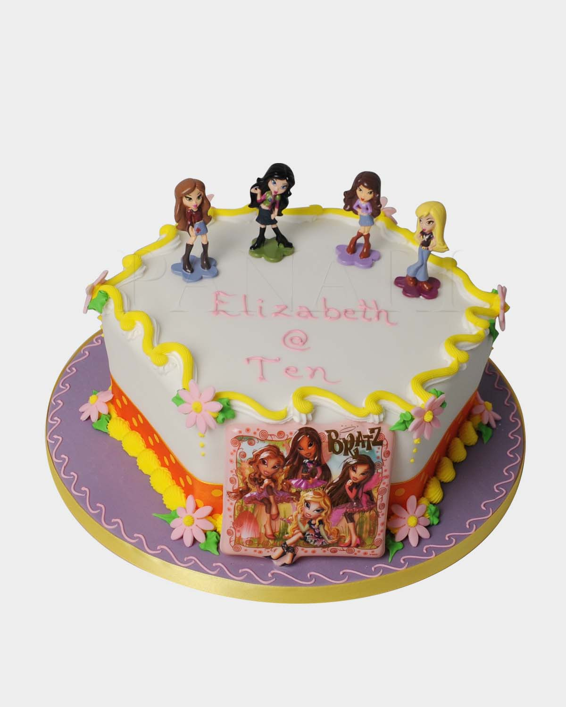Bratz Cake TZ3740