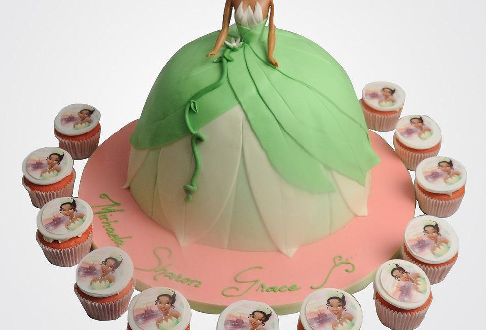 Princess Tiana Cake PR1859