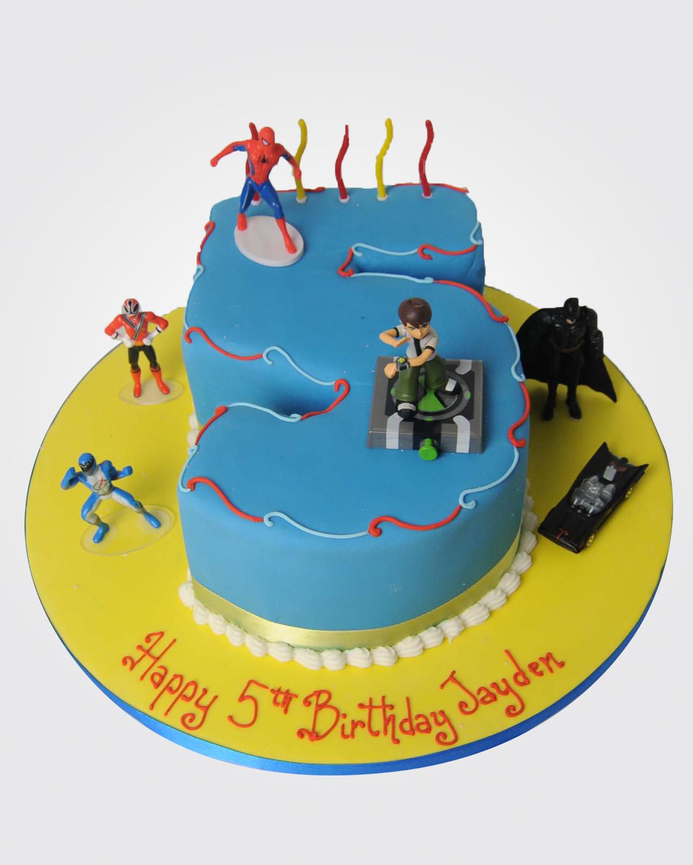 Superhero Cake SP3321