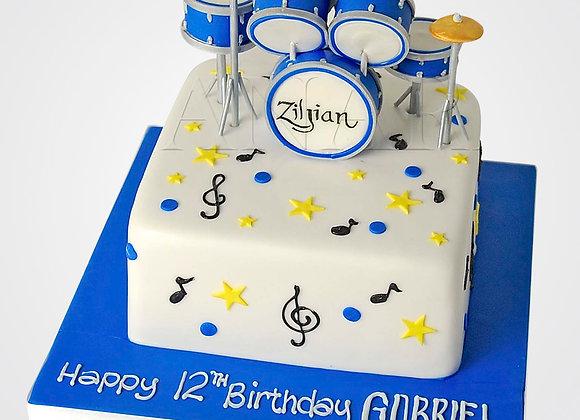 Drum Kit Cake CB5316