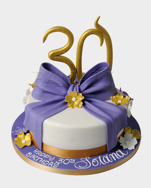 30th Birthday Cake CL7453.jpg