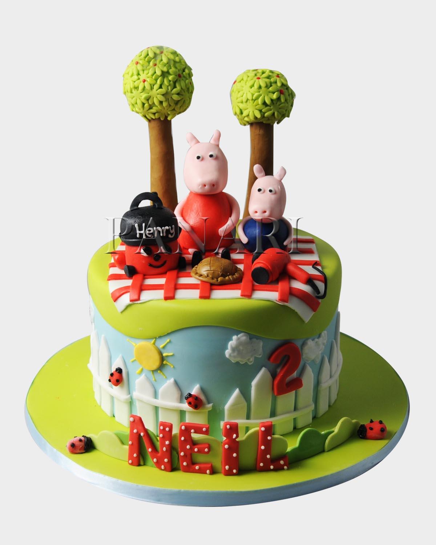 Peppa Pig Cake  PE7797