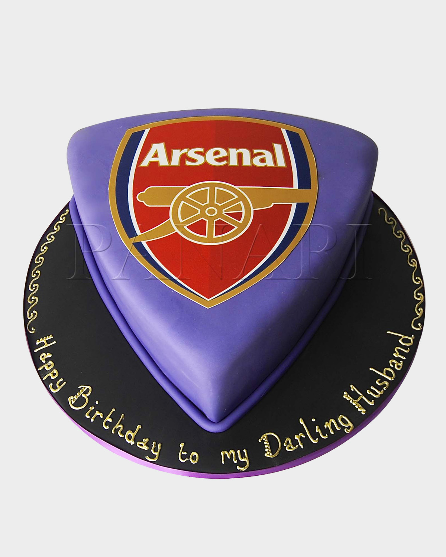 Arsenal Logo Cake SPH2684