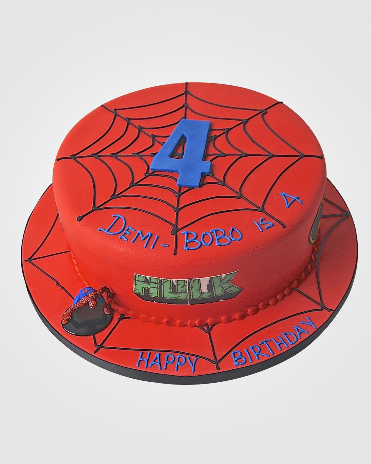 Spiderman Cake SP1119