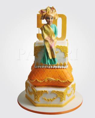 African Queen Mum Cake CL5804.JPG