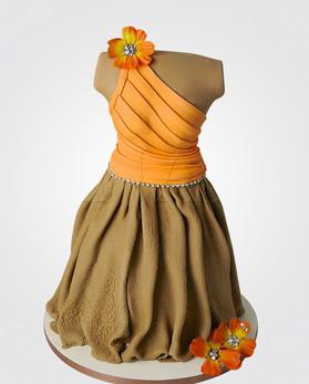 Dress Cake CL916