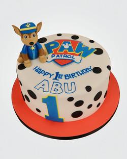 Paw Patrol Cake PW5501