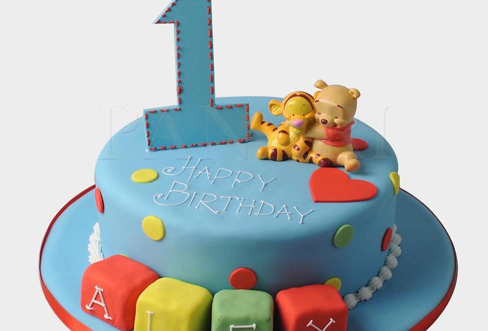 Winnie The Pooh Cake WM5277