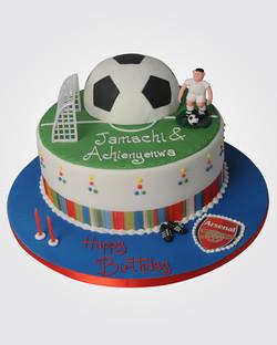 Arsenal Football Cake SPH9110