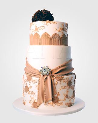 Marge Camel Wedding Cake WC7670.jpg