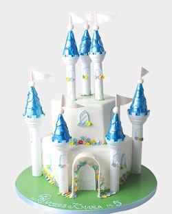 Castle Cake C2543