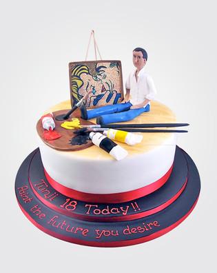 The Artist Cake TP0632 .jpg