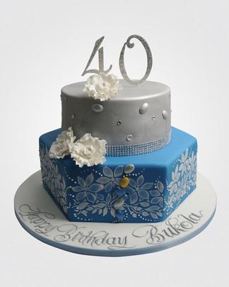 40th Birthday Cake CL8520