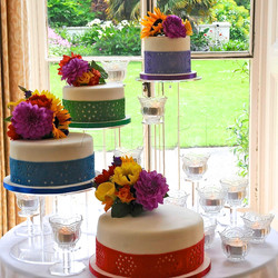 MEXICAN THEMED WEDDING CAKE WC7864