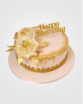 Pink Peony Cake CL1945