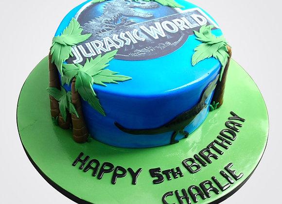 Jurassic Park Cake CB3043