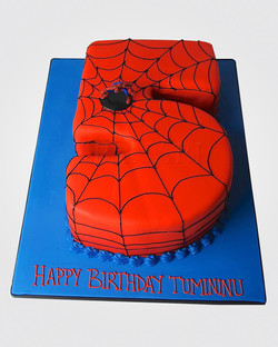 Spiderman Cake SP4921