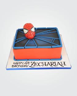 Spiderman Cake SP6129