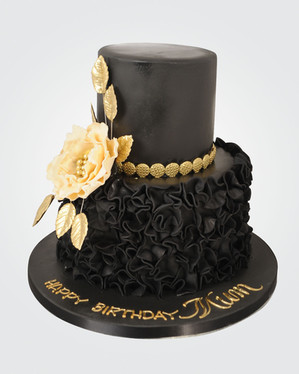Black Frill Cake CL7334