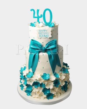 40th Birthday Cake CL2096