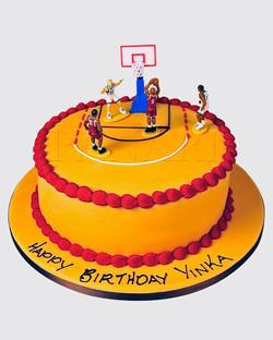 Basketball Cake  LL0027