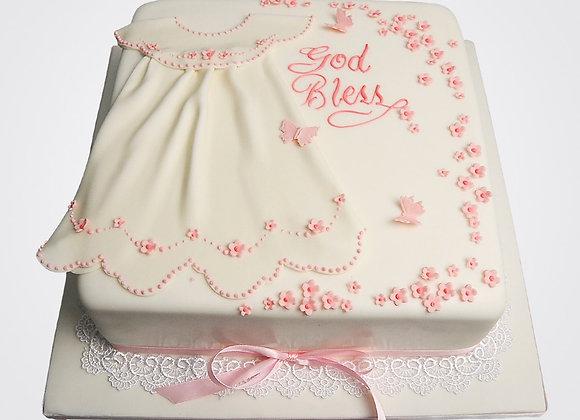 Christening Dress Cake CG3889