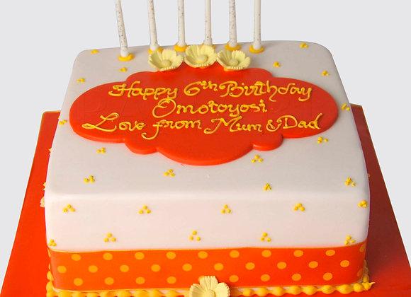 Orangey Cake ST2569