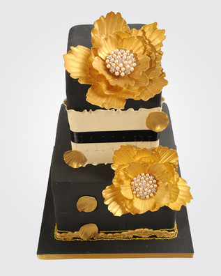 Pearl Floral Cake CL0336
