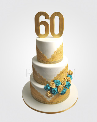 60th Birthday Cake  CL9816.JPG
