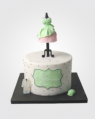 Fashionista Cake cl9974