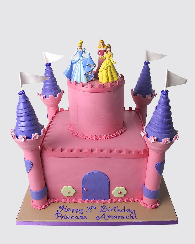 Castle Cake C3020