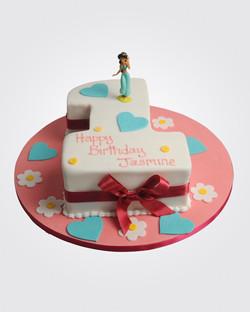 Princess Number cake PR4957
