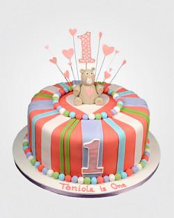 Teddy Bear Cake TD0950