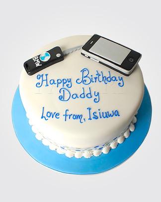 Mobile Phone & Car Key Cake TP6804 copy.