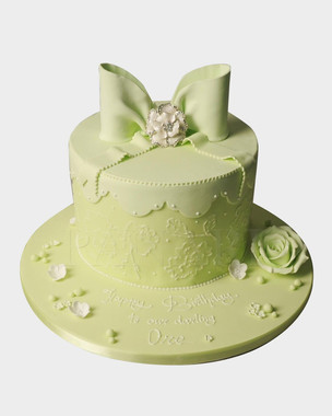Pretty Bow Cake CL3256